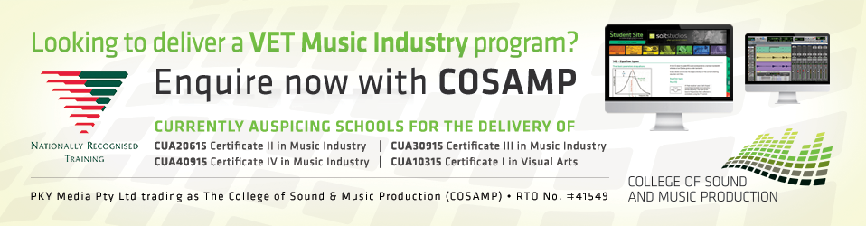 Enquire now about delivering VET Music Industry!