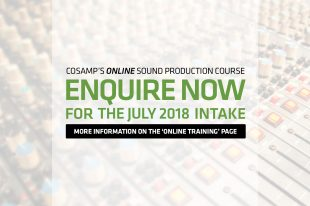 Enquire now about COSAMP's Online Cert IV Sound Production Course