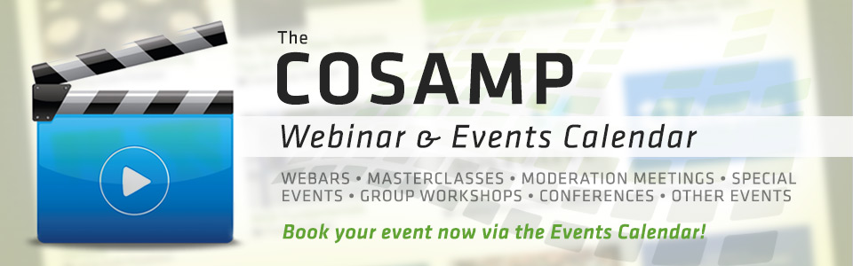 The COSAMP Events Calendar