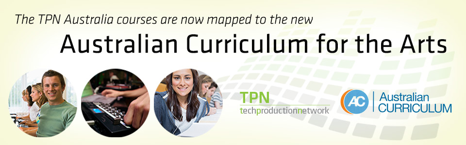 TPN Australia, mapped to the Australia Curriculum for the Arts