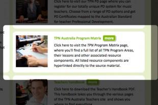 TPNA Program Matrix