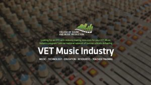 Partner with COSAMP to deliver VET Music Industry!